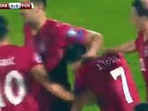 Serbia 1:2 Portugalia