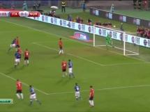 Włochy 2:1 Norwegia