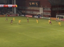 Łotwa 0:1 Kazachstan
