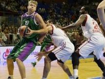 Unicaja Malaga 76:71 Brose Baskets