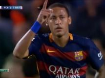 Cztery gole Neymara w meczu z Rayo Vallecano