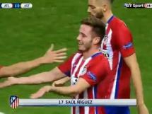 Wspaniały gol Saula Nigueza w meczu Atletico - Astana