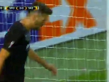 Sporting Lizbona 5:1 Skenderbeu Korcza
