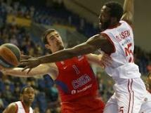 CSKA Moskwa 83:77 Brose Baskets