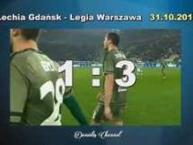 Lechia Gdańsk 1:3 Legia Warszawa