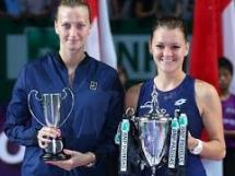 Radwańska wygrała WTA Finals w Singapurze