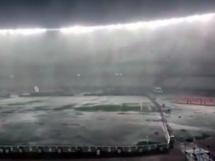 Mecz Argentyna - Brazylia przełożony z powodu deszczu