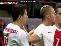 Bramka Lewandowskiego na 3-2 z Islandią!