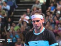 Cudowne zagranie Nadala w meczu z Wawrinką (ATP Finals)