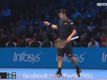 Roger Federer 2:1 Kei Nishikori