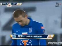 Lech Poznań 1:0 Zagłębie Lubin