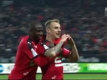 Piękny gol Grosickiego w meczu Rennes z Bordeaux