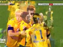 FC Nurnberg 2:1 Eintracht Brunszwik