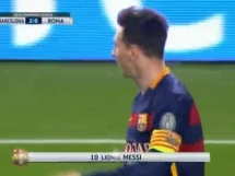 Piękny gol Messiego na 2-0 z Romą!