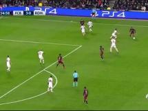 Piękna akcja Barcy i gol Pique 4-0 z Romą!