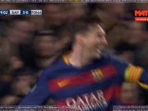 Gol Messiego na 5-0 z Romą!