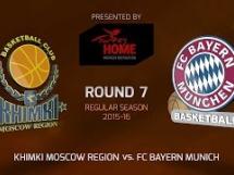 Chimki Moskwa 70:81 Bayern Monachium