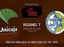 Unicaja Malaga 82:68 Maccabi Electra Tel Awiw