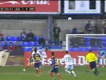 Llagostera 1:2 Deportivo La Coruna