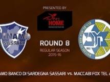 Sassari 74:76 Maccabi Electra Tel Awiw