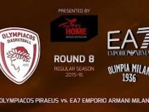 Olympiacos Pireus 73:63 Armani Mediolan