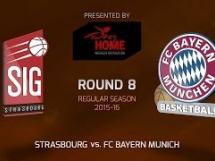 Strasbourg 69:82 Bayern Monachium