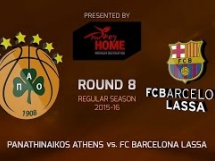 Panathinaikos 93:86 Regal Barcelona
