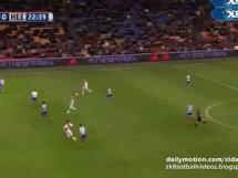 Gol Milika w meczu z Heerenveen