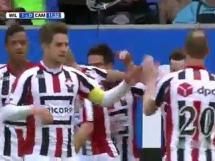 Willem II 3:0 Cambuur