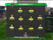 Villarreal CF 2:1 Rayo Vallecano