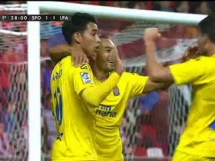 Sporting Gijon 3:1 Las Palmas