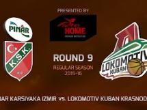 Pinar Karsiyaka - Lokomotiv Kubań 78:88