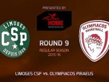 Limoges 67:76 Olympiacos Pireus