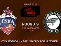 CSKA Moskwa 94:66 Darussafaka