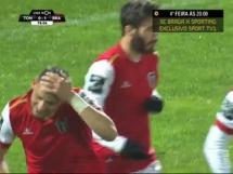 Tondela 0:1 Sporting Braga