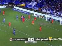 Deportivo La Coruna 1:1 Llagostera