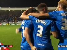 Hartlepool United 0:0 (2:0) Salford City