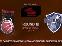 Brose Baskets 86:54 Sassari