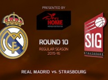 Real Madryt 97:65 Strasbourg
