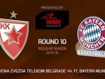 Crvena Zvezda 85:76 Bayern Monachium