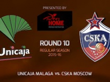 Unicaja Malaga 76:88 CSKA Moskwa