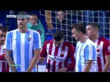 Malaga CF 1:0 Atletico Madryt