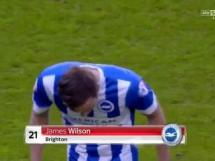 Piłkarz Brighton wymiotował na boisku