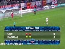 Caen 0:0 Olympique Marsylia