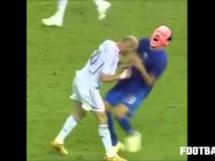 Zizou nokautuje Beniteza!