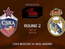 CSKA Moskwa 95:81 Real Madryt