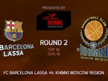 Regal Barcelona 87:70 Chimki Moskwa