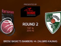 Brose Baskets 96:63 Żalgiris Kowno