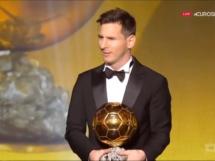 Leo Messi zdobywcą piątej Złotej Piłki FIFA!