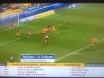 Dwa gole Michała Żyro w meczu Wolves - Fulham